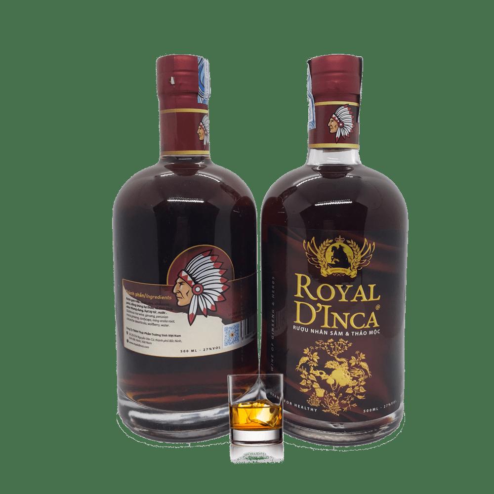 R.ư.ợ.u Royal D'Inca